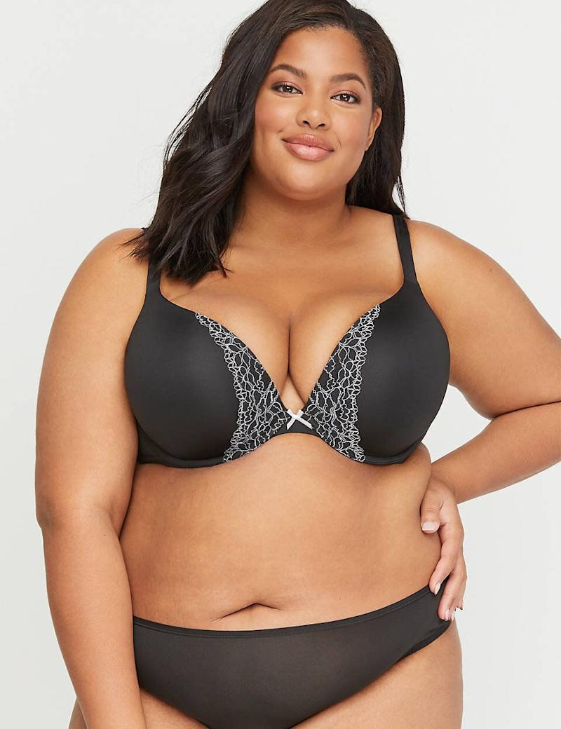 Cacique Smooth Boost Plunge Bra