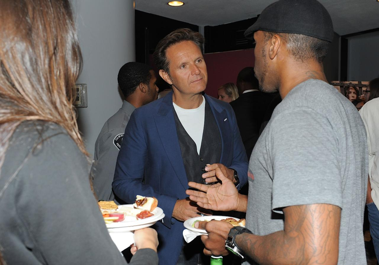 LOS ANGELES, CA - JUNE 12: Executive Producer Mark Burnett attends a special event for History's 'The Bible' at Harmony Gold Theatre on June 12, 2013 in Los Angeles, California. (Photo by Angela Weiss/Getty Images for History)