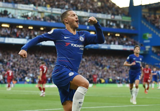 Deal me in: Hazard could be about to become England's highest paid player ever