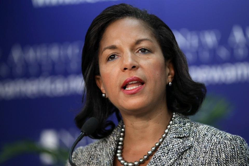 Susan Rice is a possible choice for secretary of State.