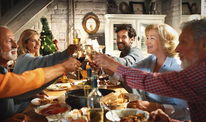 <p>Families can mix with two other households for five days.jpg</p> (Getty)