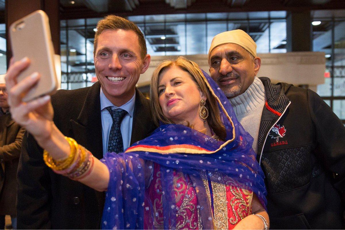 <p></p><p><span>Former Conservative leader Rona Ambrose, centre, poses for a photo with former Progressive Conservative leader Patrick Brown, left, and former Conservative MP Bal Gosal, right, at Toronto's Vaisakhi Parade on Khalsa Day, April 26, 2015. Photo from Rona Ambrose/Twitter.</span> </p><p></p>