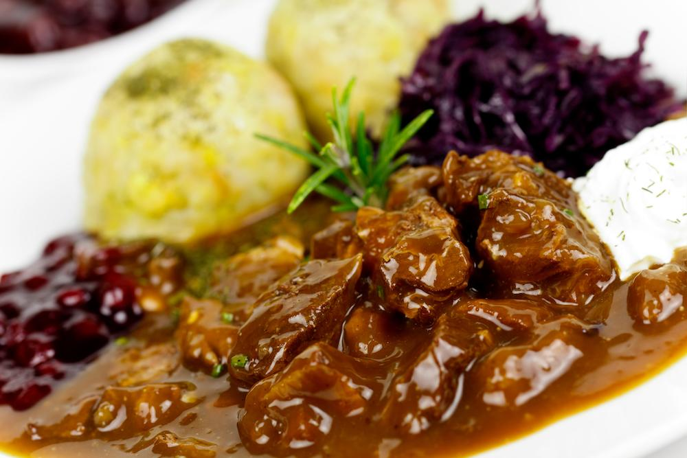 <p>You've got until the end of March for the venison season, so take advantage and knock up a warming venison stew or goulash. Perfect when the mercury is still sitting a bit low. [Photo: Getty] </p>