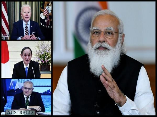 Leaders at the Quad summit in March. (File Photo)