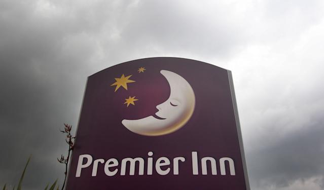 In a trading update, Premier Inn-owner Whitbread said that UK accommodation sales fell by 0.4% in the three months to 28 November. Photo: Lewis Whyld/PA via Getty