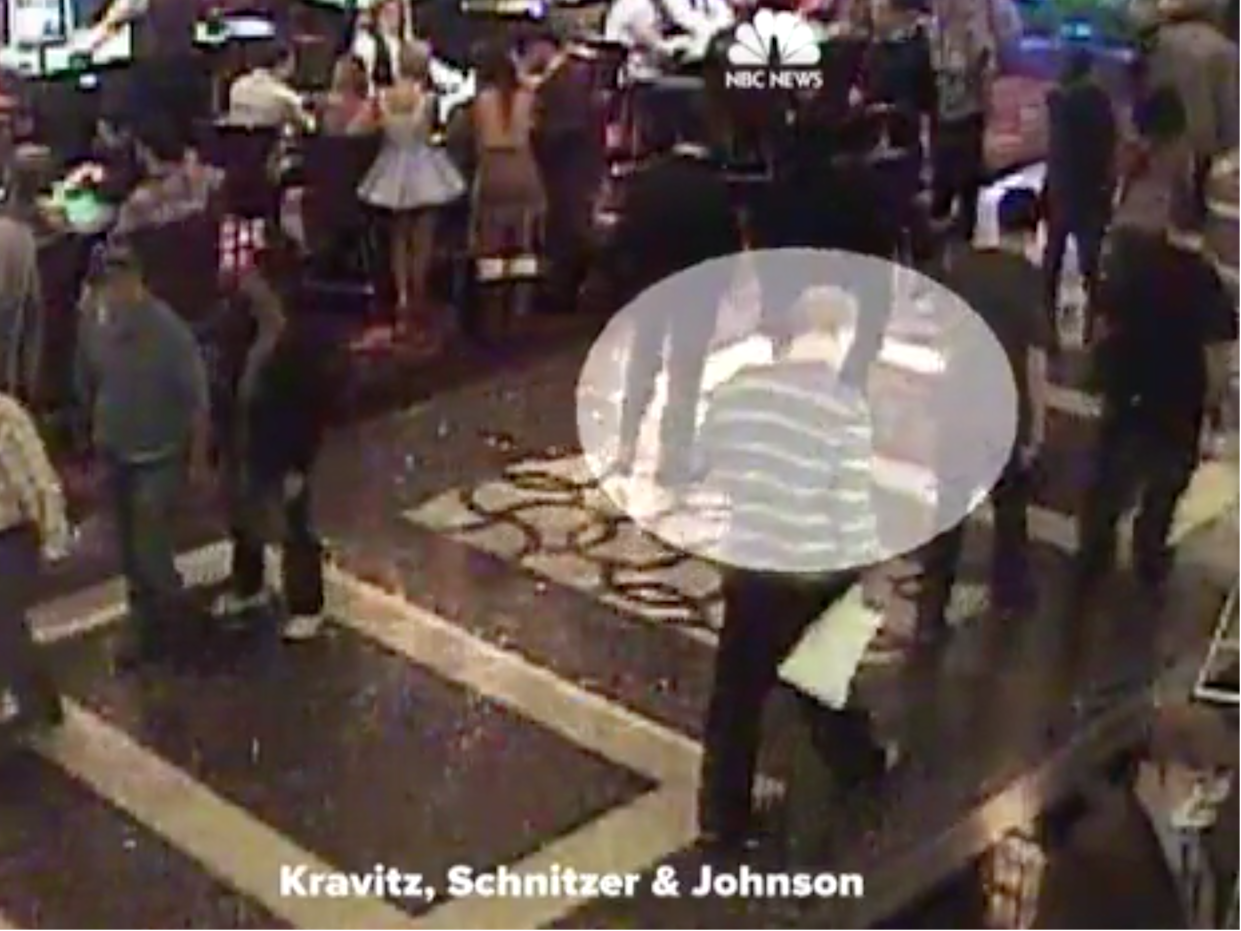 Las Vegas shooter Stephen Paddock appears on security footage at the Cosmopolitan Hotel in 2011: NBC News