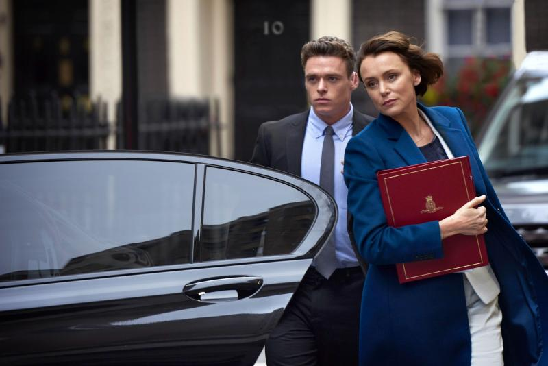 Richard Madden starred with Keeley Hawes in Bodyguard (World Productions/Des Willie)