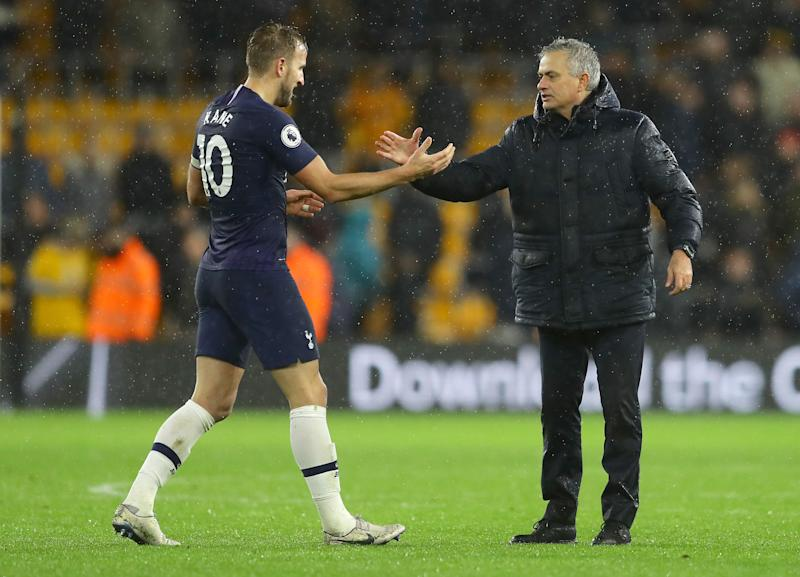 'Everything is about winning' - Kane backs Spurs manager Mourinho as he compares current boss to Pochettino