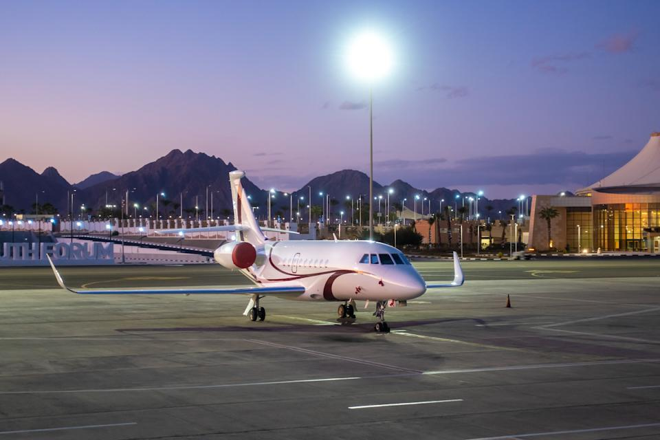 Would you like to charter a private jet? It might be more affordable than you think. Credit: Getty.