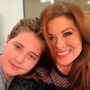 "<p>""The best present of all is having my boy with me today,"" the actress wrote, as she spent her 49th birthday on the set of <em>Will & Grace</em>, with her son Roman, 13. (Photo: <a href=""https://www.instagram.com/p/BX1qf6VH7Du/?taken-by=therealdebramessing"" rel=""nofollow noopener"" target=""_blank"" data-ylk=""slk:Debra Messing via Instagram"" class=""link rapid-noclick-resp"">Debra Messing via Instagram</a>) </p>"