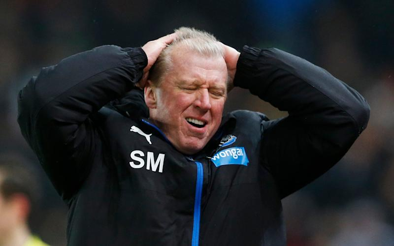 Steve McClaren's spell on Newcastle did not pan out as hoped - Reuters