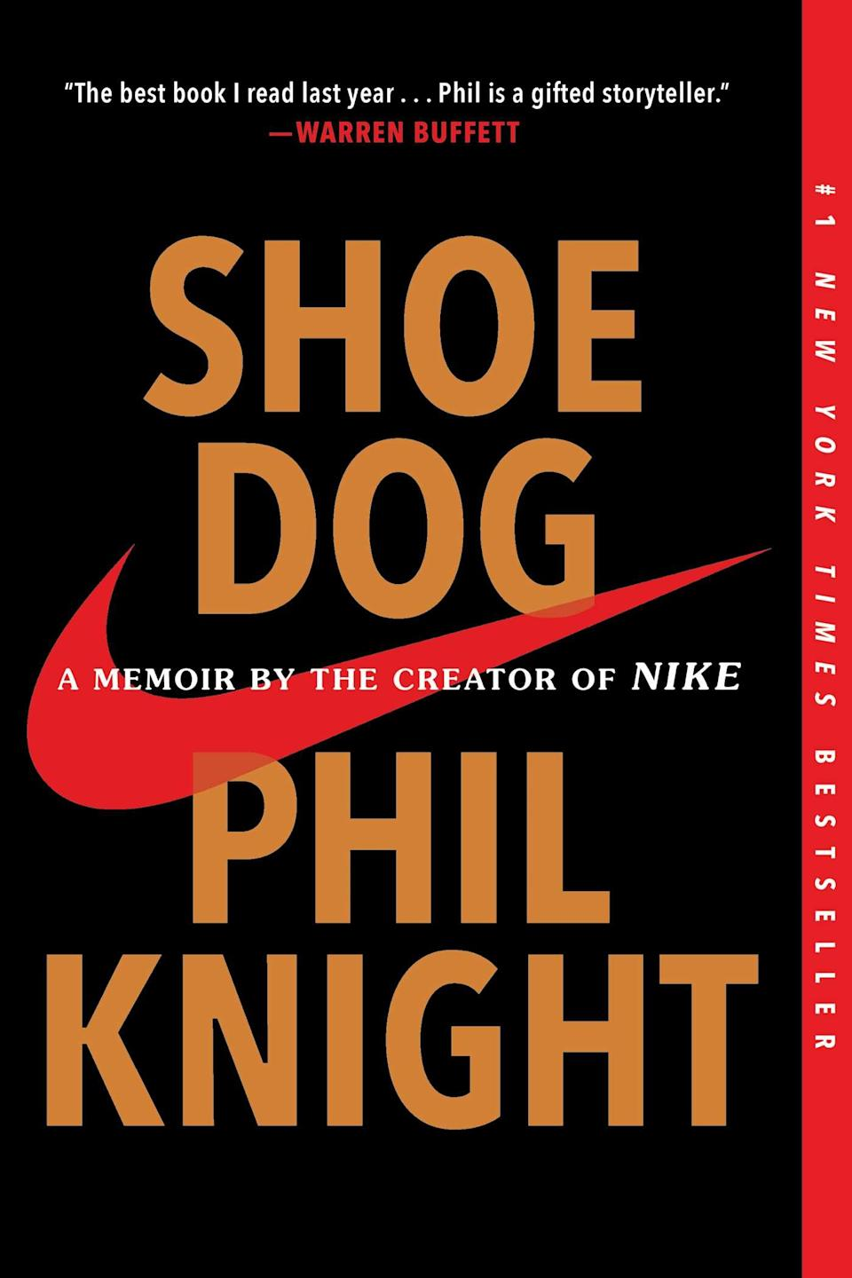 """""""Shoe Dog"""" (2018) by Phil Knight"""