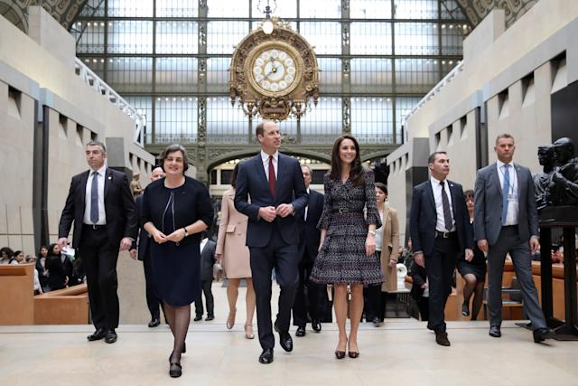 Will and Kate in Paris