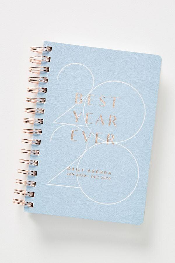 "<p>This <a href=""https://www.popsugar.com/buy/Riley-2020-Spiral-Planner-537419?p_name=Riley%202020%20Spiral%20Planner&retailer=anthropologie.com&pid=537419&price=26&evar1=savvy%3Aus&evar9=46612302&evar98=https%3A%2F%2Fwww.popsugar.com%2Fphoto-gallery%2F46612302%2Fimage%2F47074298%2FRiley-2020-Spiral-Planner&list1=shopping%2Cstress%2Ccollege%2Cnew%20years%20resolutions%2Corganization%2Cself%20improvement&prop13=api&pdata=1"" rel=""nofollow"" data-shoppable-link=""1"" target=""_blank"" class=""ga-track"" data-ga-category=""Related"" data-ga-label=""https://www.anthropologie.com/shop/riley-2020-spiral-planner?category=SEARCHRESULTS&amp;color=097"" data-ga-action=""In-Line Links"">Riley 2020 Spiral Planner</a> ($26) will give you the burst of inspo you need for the new decade.</p>"