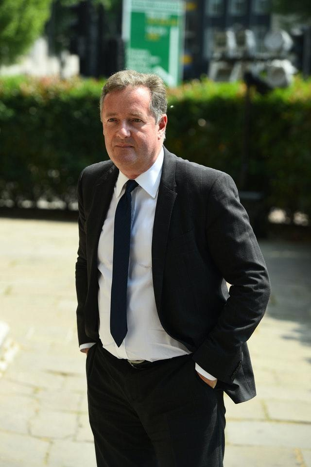 Piers Morgan said it had been a difficult time for his family