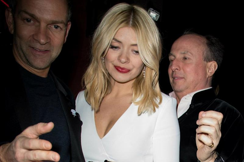 'Time's up on Time's Up': Holly Willoughby posts furious response to Brit Awards paparazzi pictures