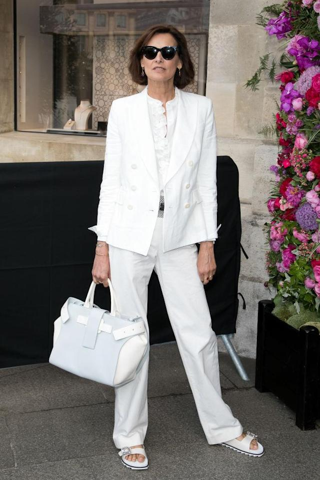 <p>Model, aristocrat, style icon: Inès de la Fressange is the epitome of French fashion. (Photo: Getty Images) </p>