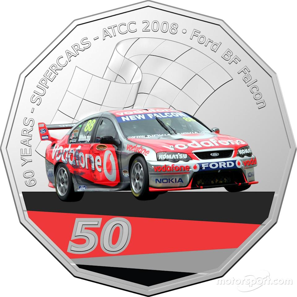 "Royal Australian Mint Supercars coins<span class=""copyright"">Royal Australian Mint</span>"