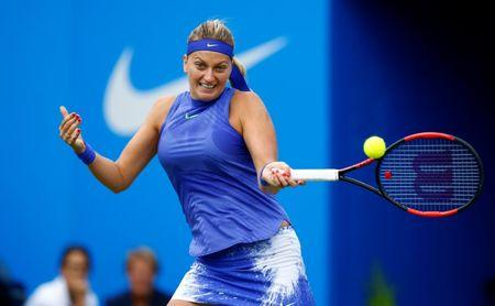 Kvitova Wins Birmingham Title in Second Event Back on Tour