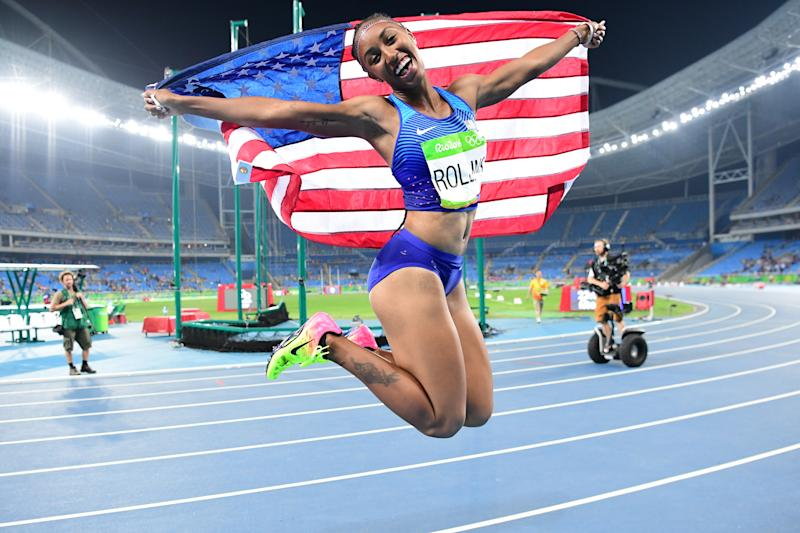 Athletics - Olympic champ Rollins banned for failing to file whereabouts - USADA