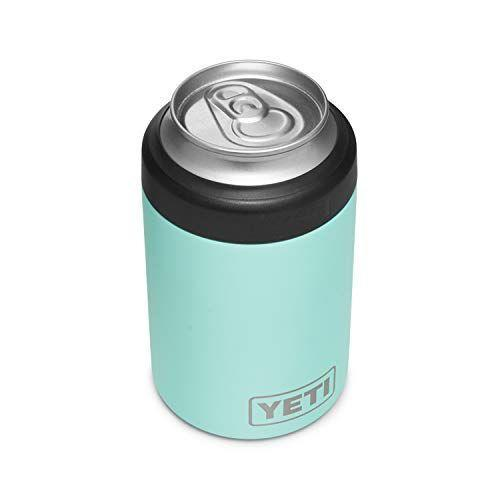 """<p><strong>YETI</strong></p><p>amazon.com</p><p><strong>$24.98</strong></p><p><a href=""""https://www.amazon.com/dp/B0842RRYF5?tag=syn-yahoo-20&ascsubtag=%5Bartid%7C2089.g.33648375%5Bsrc%7Cyahoo-us"""" rel=""""nofollow noopener"""" target=""""_blank"""" data-ylk=""""slk:Shop Now"""" class=""""link rapid-noclick-resp"""">Shop Now</a></p><p>Call us spoiled, but we firmly believe that nothing can ruin a good vibe faster than a drink that turns lukewarm when you're outside. So to make sure that never happens, YETI made a badass coozie, that also happens to be the perfect stocking stuffer. </p><p>The Rambler is a fancy insulated """"colster can"""" that will last forever, keeps your drink cold for as long as you'll need to drink it, and is much harder to lose than a foam one. It can even be used as a cup for wine, coffee, and whatever else your little engine needs to keep running. </p>"""