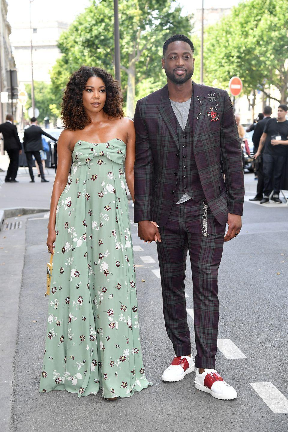 """<p>Even Instagram's favorite couple has had their struggles. When the two first got together in 2009, Dwyane was in the middle of divorcing his first wife and Gabrielle was quickly labeled the mistress, according to <em><a href=""""https://www.eonline.com/news/927278/legal-drama-a-break-up-and-heart-wrenching-tragedy-how-gabrielle-union-and-dwyane-wade-emerged-stronger-than-ever"""" rel=""""nofollow noopener"""" target=""""_blank"""" data-ylk=""""slk:E! News"""" class=""""link rapid-noclick-resp"""">E! News</a></em>. </p><p>Just 10 days after their 2013 engagement news broke, it was revealed that Dwyane fathered a son with another woman. But the two stayed together and continued to the plan their lavish Miami wedding. They have been married ever since.</p>"""