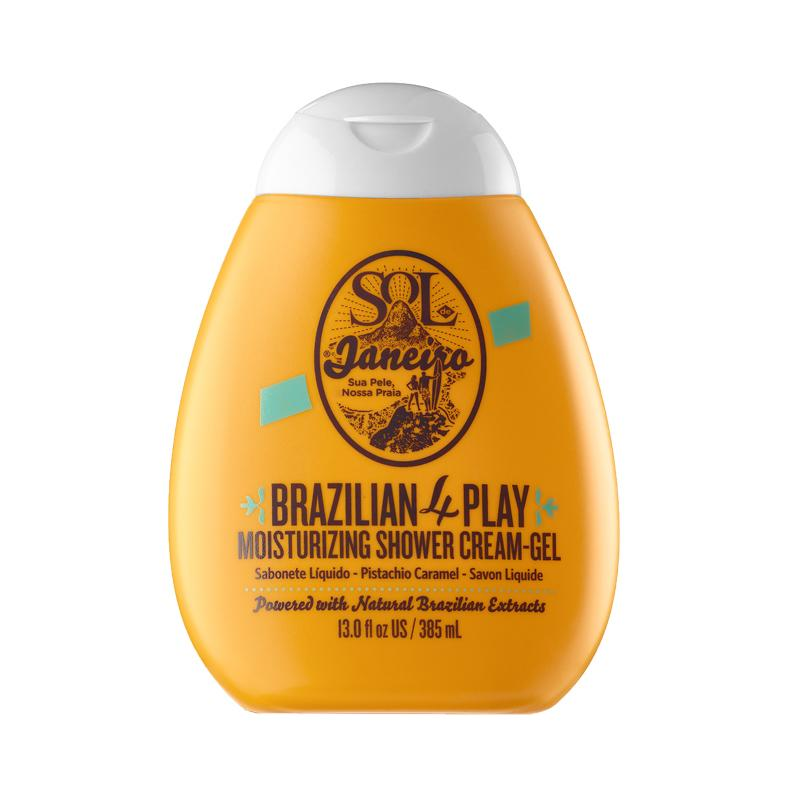 "<p>This paraben-free newbie is everything you need to quench your skin's thirst. It's loaded with a nurturing mix of coconut oil, açaí, and cupuaçu butter. It's so good it can even double as a shaving cream. Boom! A double win. <a rel=""nofollow"" href=""http://www.sephora.com/brazilian-4-play-moisturizing-shower-cream-gel-P411862?skuId=1876861"">Sephora</a>, $25 (Photo: Sol de Janeiro) </p>"