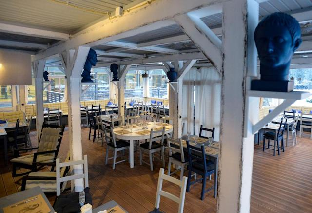 <p>England should be able to take advantage of Russia's long summer daylight hours at the restaurant terrace. (GETTY) </p>