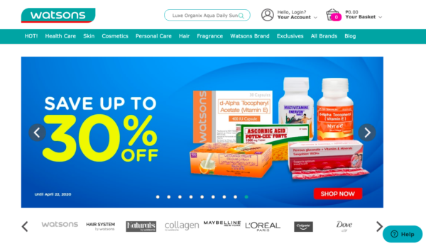 Online Drugstores in the Philippines - Watsons Online Pharmacy