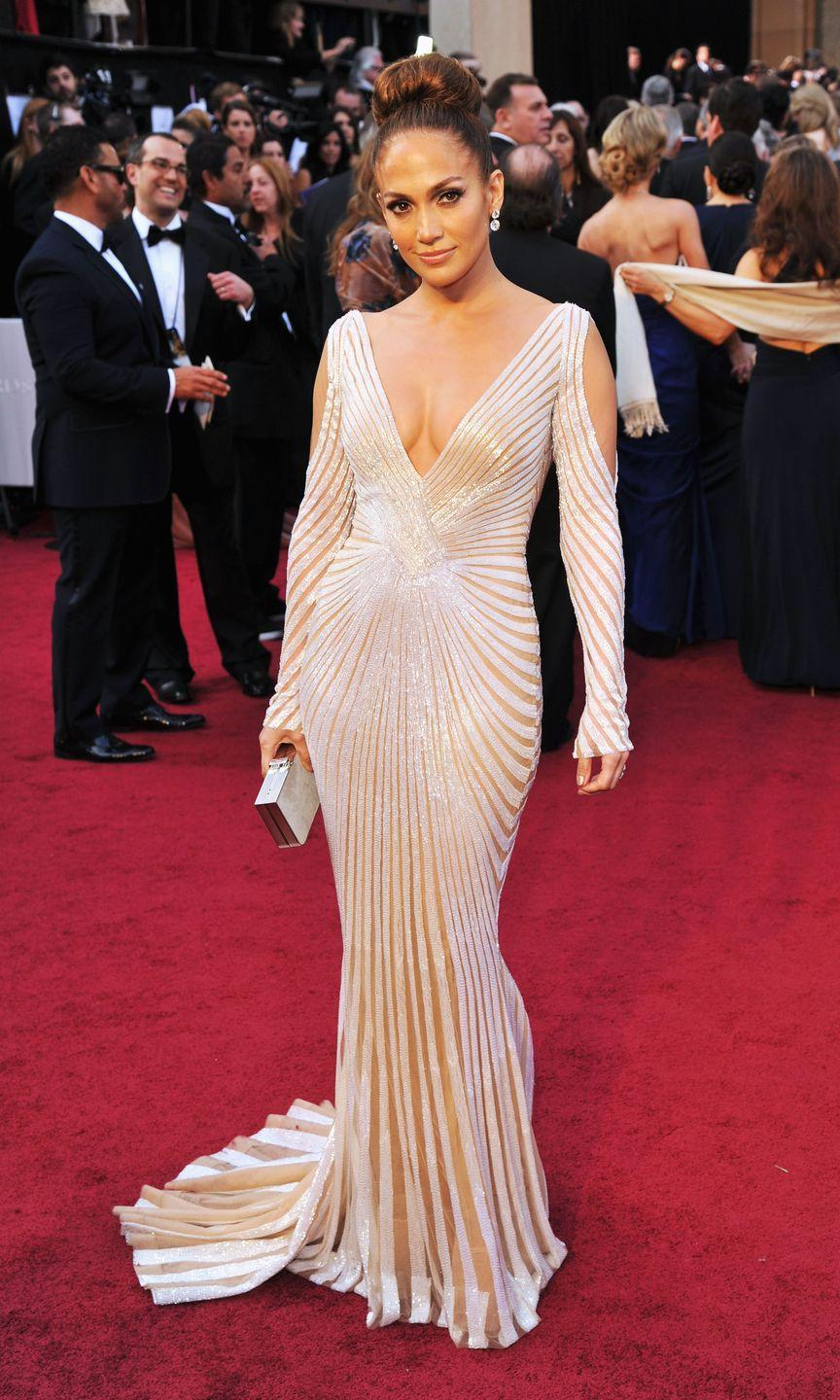 <p><strong>When: </strong>March 2012</p><p><strong>Where: </strong>The Academy Awards</p><p><strong>Wearing: </strong>Zuhair Murad</p>
