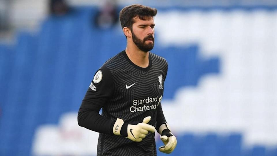 Alisson, portiere del Liverpool | NEIL HALL/Getty Images