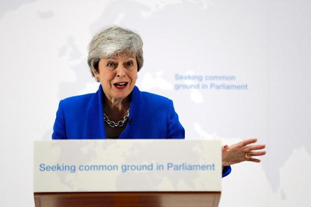 May is in the last throes of a tumultuous period in power (AFP Photo/Kirsty Wigglesworth)