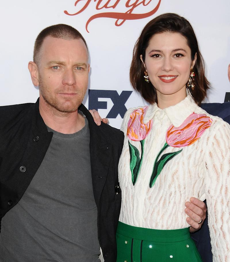 "McGregor and Winstead at a ""Fargo"" event in May. (Jason LaVeris via Getty Images)"