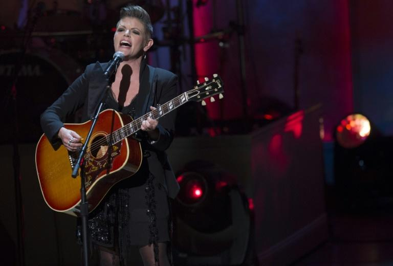 Singer Natalie Maines of The Chicks, shown here in 2014, weathered death threats and blacklisting after she admonished George W Bush just before the Iraq War began
