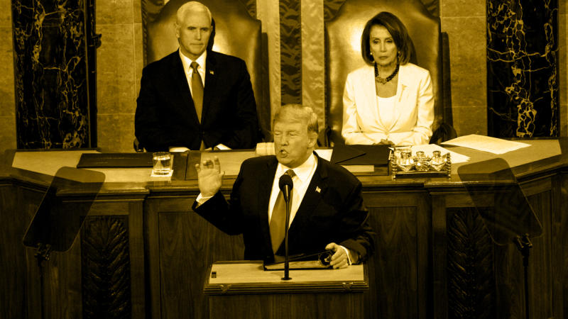 President Trump delivers his State of the Union