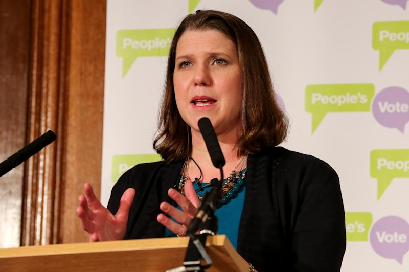 Jo Swinson (LightRocket via Getty Images)