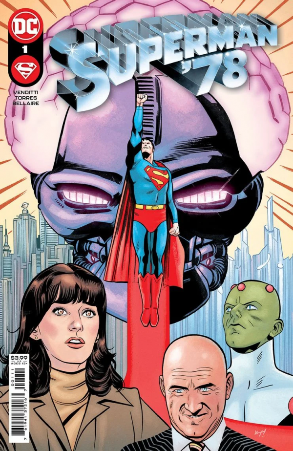 Superman '78 continues the Man of Steel's adventures from Richard Donner's 1978 blockbuster. (Photo: DC Comics)