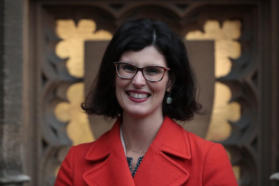 Liberal Democrat MP Layla Moran at the Houses of Parliament in Westminster, London. (Photo by Aaron Chown/PA Images via Getty Images)