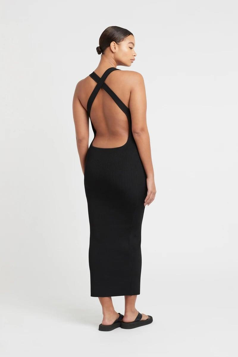 <p><span>SIR the Label Marcelle Open Back Dress</span> ($380)</p>