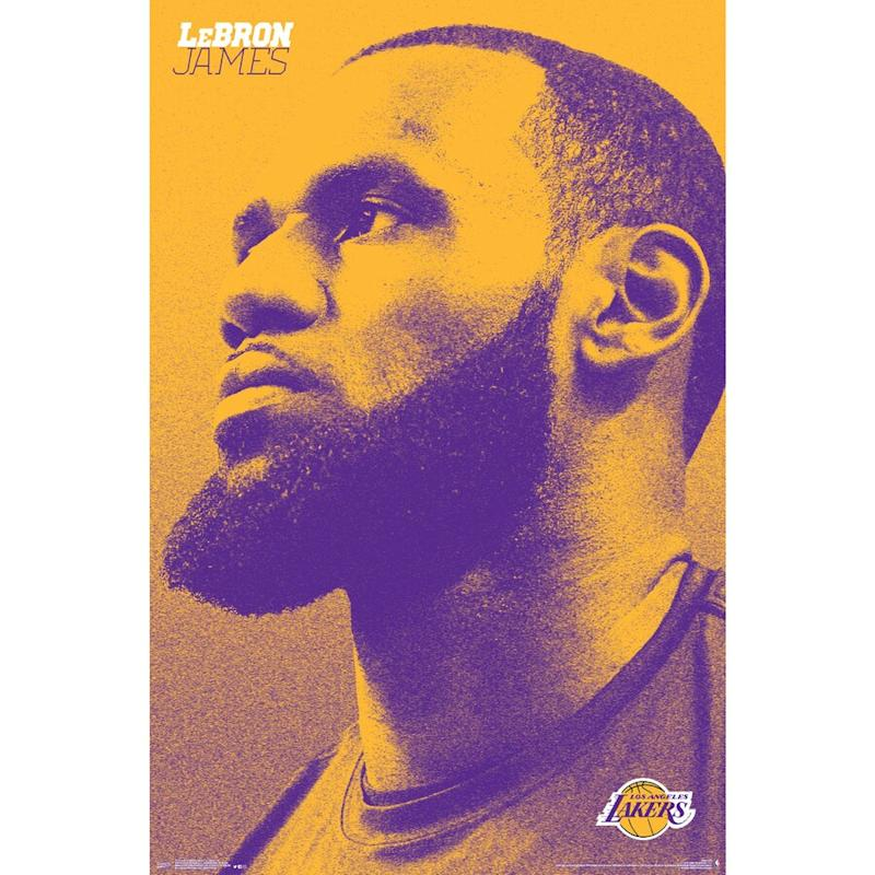 James Lakers Poster