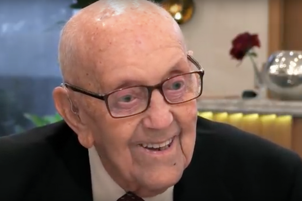 97-year-old Richard has become an internet sensation after appearing on First Dates. Photo: Channel 4