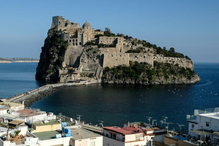 The G7 meeting of interior ministers is being held at the Aragonese Castle of Ischia, an island off Naples, which for first time will include representatives of tech giants Microsoft, Google, Facebook and Twitter