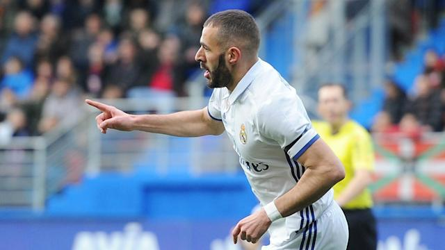 Real Madrid president Florentino Perez has indicated Monaco's Kylian Mbappe could be a suitable partner for Karim Benzema.