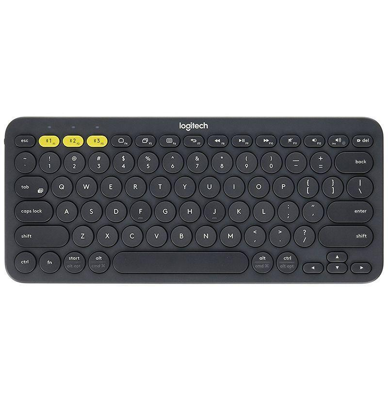 """<p><strong>Logitech</strong></p><p>amazon.com</p><p><strong>$27.99</strong></p><p><a href=""""https://www.amazon.com/dp/B0148NPH9I?tag=syn-yahoo-20&ascsubtag=%5Bartid%7C10054.g.29155470%5Bsrc%7Cyahoo-us"""" rel=""""nofollow noopener"""" target=""""_blank"""" data-ylk=""""slk:Buy"""" class=""""link rapid-noclick-resp"""">Buy</a></p><p>Some situations call for a keyboard. For instance, when typing ungainly letters on the iPad screen makes you want to pull your hair out. Logitech makes an inexpensive Bluetooth keyboard that connects to all kinds of devices, including Apple's. It's easy to carry around and easy to use. Plus, it has an insane two-year battery life.</p>"""