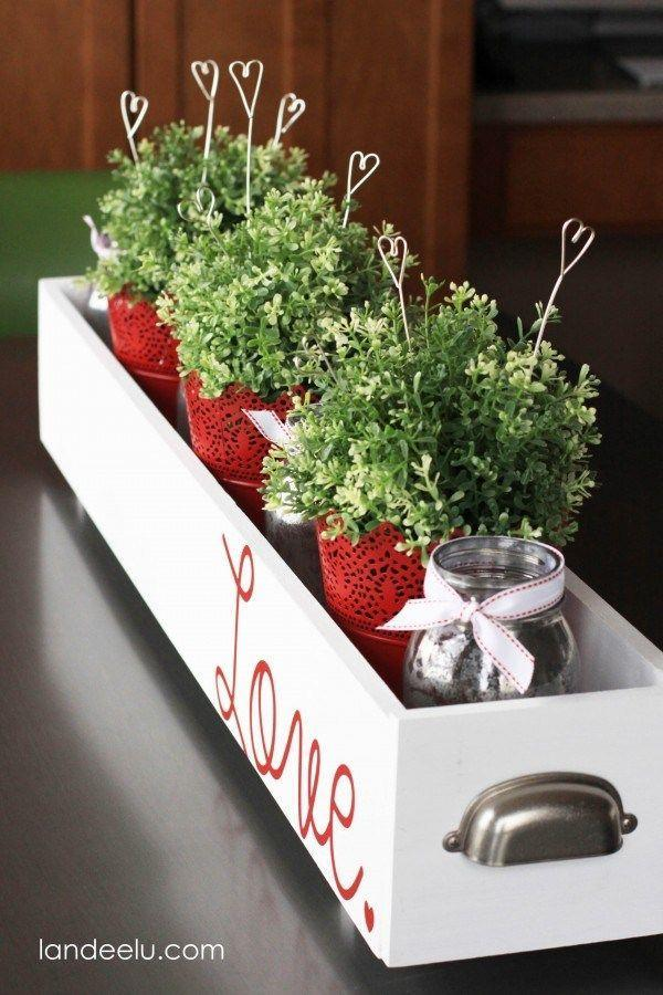 """<p>Calling all #PlantLadies! Add a <em>love</em>ly touch to your Valentine's Day table decorations with heart-shaped plant picks. </p><p><strong>Get the tutorial at <a href=""""https://www.landeeseelandeedo.com/easy-valentines-day-decorations-wire-heart-picks/"""" rel=""""nofollow noopener"""" target=""""_blank"""" data-ylk=""""slk:Landeelu"""" class=""""link rapid-noclick-resp"""">Landeelu</a>.</strong></p><p><strong><a class=""""link rapid-noclick-resp"""" href=""""https://www.amazon.com/AmazonBasics-16-Gauge-Speaker-Wire-Feet/dp/B006LW0W5Y/?tag=syn-yahoo-20&ascsubtag=%5Bartid%7C10050.g.2971%5Bsrc%7Cyahoo-us"""" rel=""""nofollow noopener"""" target=""""_blank"""" data-ylk=""""slk:SHOP WIRE"""">SHOP WIRE</a><br></strong></p>"""