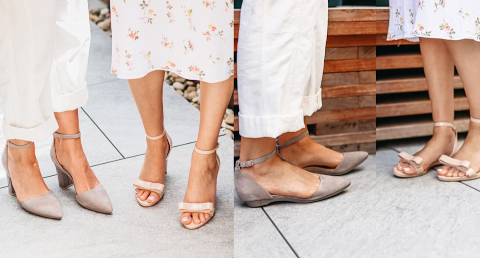 I trie'd Pashion Footwear's convertible heel-to-flat shoes. Images via Instagram/PashionFootwear.