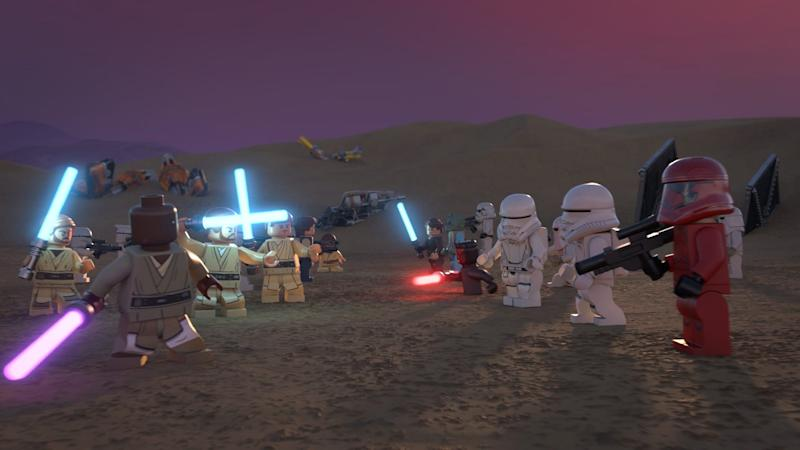 "Heroes and villains throughout ""Star Wars"" history come together in the new Lego Disney+ special."