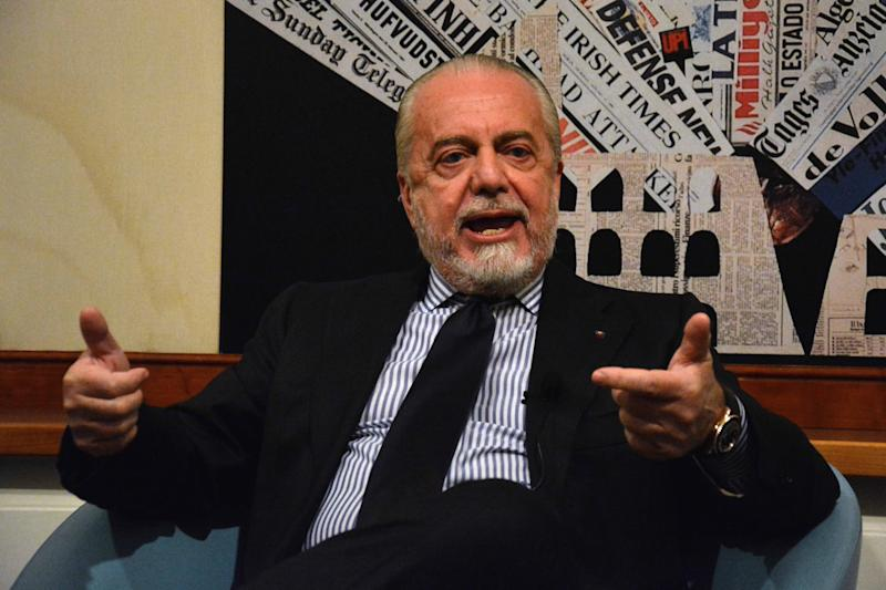 Aurelio De Laurentiis has criticised the system UEFA use for seeding teams in the Champions LeagueMore