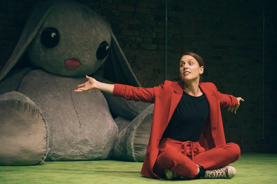 <p>Kelly Gough stars as a woman obsessed with an influencer</p> (Isha Shah)