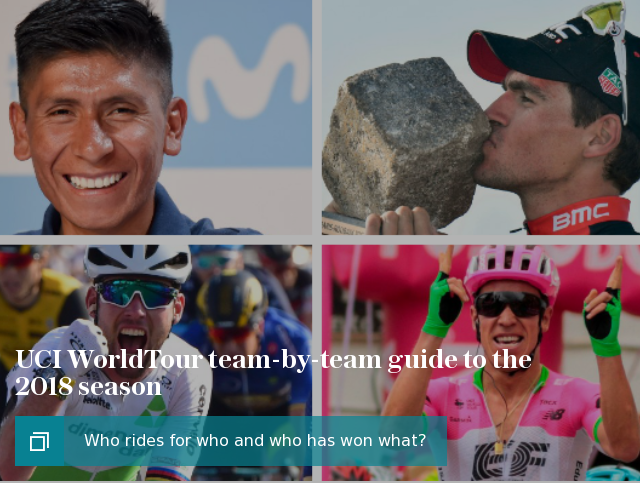 UCI WorldTour team-by-team guide to the 2018 season